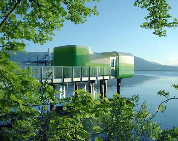 pie ezera Autors: Burns Pasaules ekskluzīvākā viesnīca