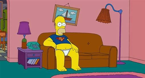 quotDīvāna ainaquot sākumā... Autors: Fosilija Daži fakti par Simpsoniem.