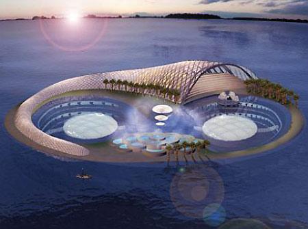 Hydropolis Undersea Resort ... Autors: llellde Nākotnes viesnīcas