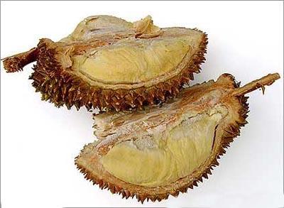 Duriana dzimtene ir Bruneja... Autors: laforeta Eksotiskākie augļi (Top10)