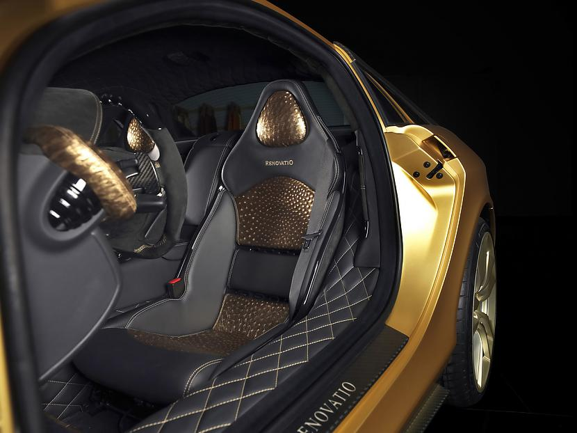 Autors: PankyBoy SLR McLaren no Mansory – zelts ar karbonu