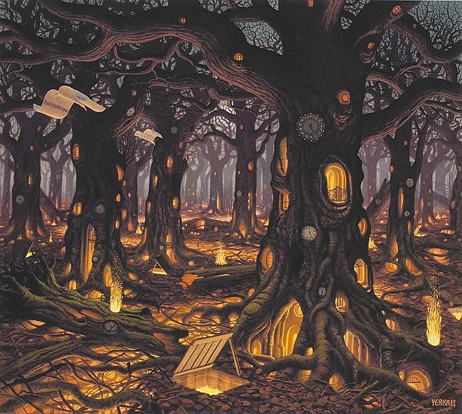 autumn  jacek yerka Autors: Fosilija sirreālisma nekad nebūs par daudz.