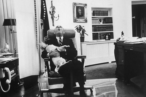 Prezidenta Lindona B Džonsona... Autors: aisse Valsts pirmie suņi