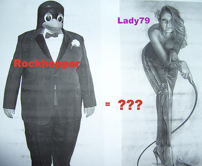Autors: VIPlady79 Gulbis ar pingvīniem nepārojas -Lady79  atbilde Rockhopper