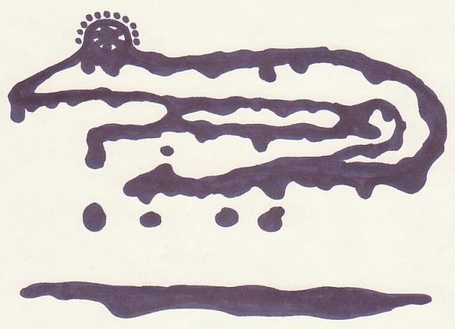 Liquid monster Autors: Karmena Izlaide
