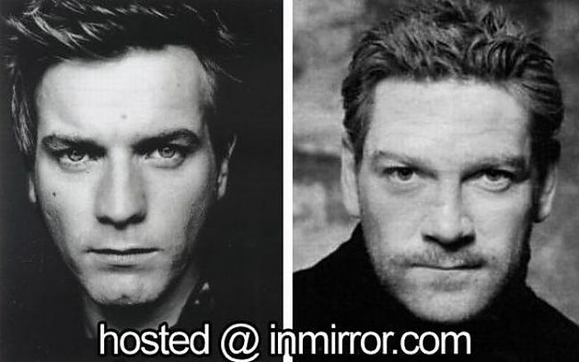 Ewan McGregor vs Kenneth... Autors: FANS007 Paskat, Cik Līdzīgi! :D