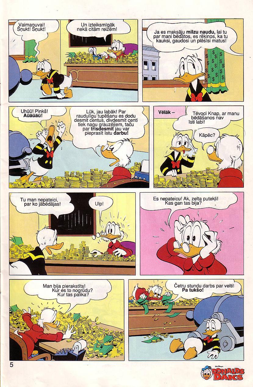 Autors: Fosilija Donalds Daks 04 Komikss