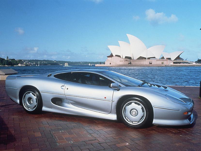 Jaguar XJ 220  125 miljoni... Autors: Nevaritis Pasaulē dārgākie sadauzītie auto..