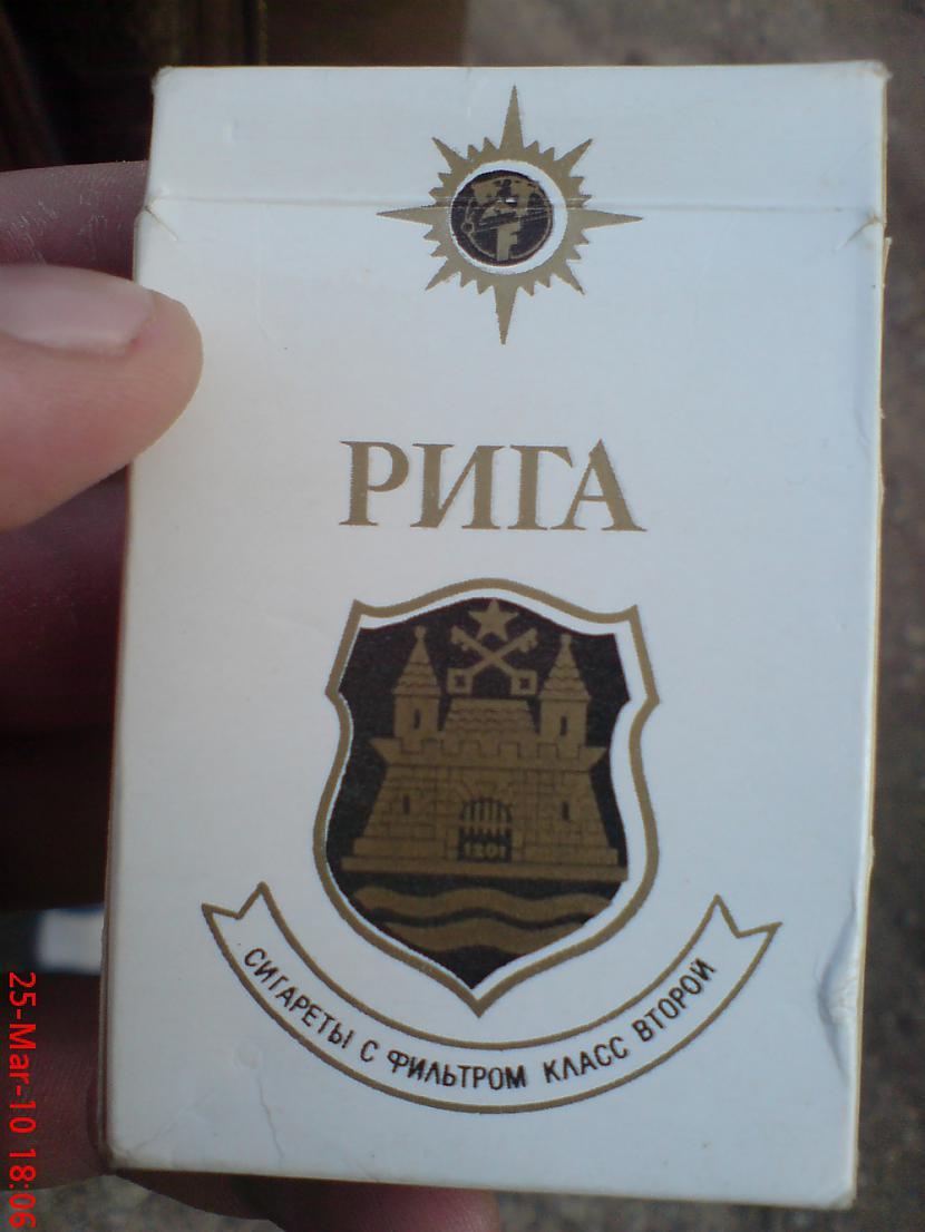 """Autors: Sperovs Cigaretes """"RĪGA"""""""