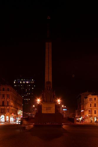 Brīvības piemineklis Autors: JanisGr Earth hour Latvia