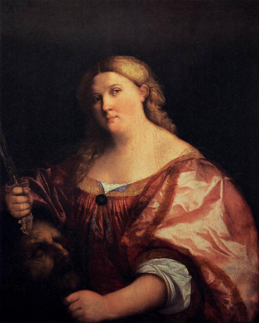Judīte ar Holoferna galvu... Autors: MEGRUBI Sieviete, kuras dēļ vīrietis zaudē galvu