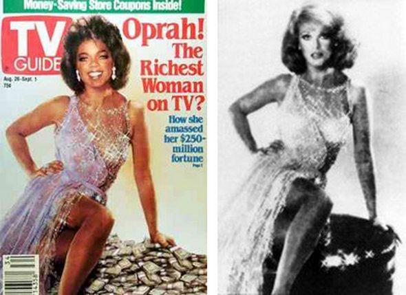 1989 gadā Opra Vinfrija tika... Autors: ainiss13 Slavenākās apstrādātās fotogrāfijas