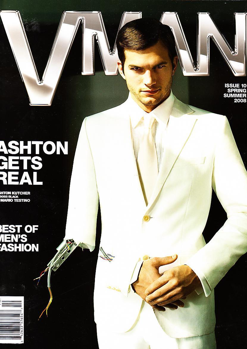Ashton Kutcher Autors: Horneta Real man wear suits