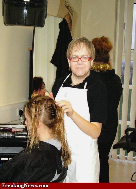 Puisis atver vaļā frizētavas... Autors: MilfHunter Anekdotes