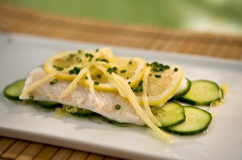 Zivi kopā ar citronu pasniegt... Autors: GV666 Fakti par ēdienu