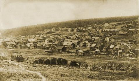 Centrālija 1906 gadā Autors: tgff1901 Centrālija, Pensilvānijas štats - īstā Silent Hill