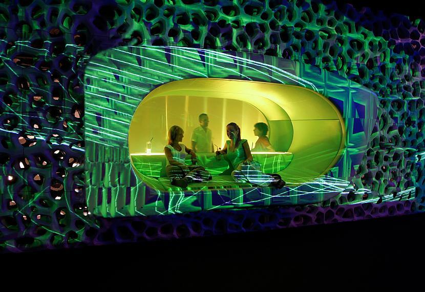 Cocoon Club Frankfurte Vācija... Autors: Lieniitee Unikāli naktsklubi.