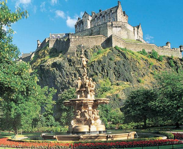 Edinburgh Šeit dominē... Autors: janyx2 10 Skaistākās vietas Lielbritanijā