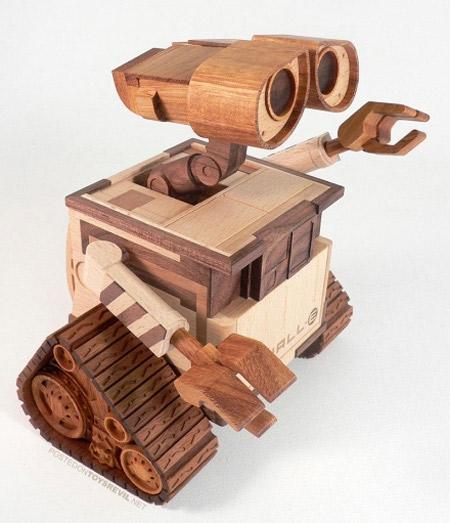 WALLE Wooden Sculpture Created... Autors: Booyakah Izstradajumi no koka