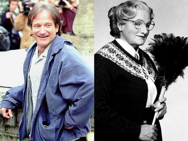Robin Williams quotMrs... Autors: Snakebite Neticamas aktieru pārvērtības...