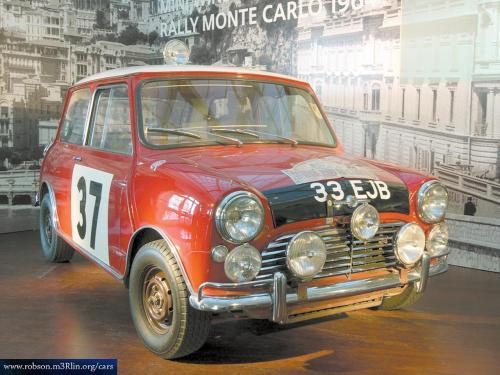 Rally car Autors: Ozijs111 Mini Cooper S 1964.