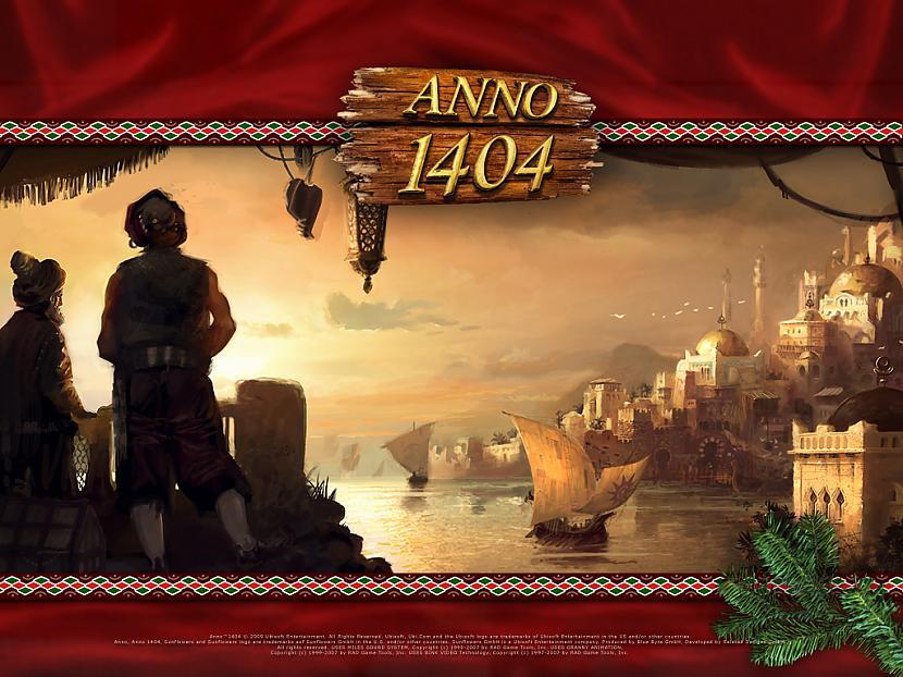 ANNO 1404Stratēģijas spēle kur... Autors: Nightmare123 Datorspēles