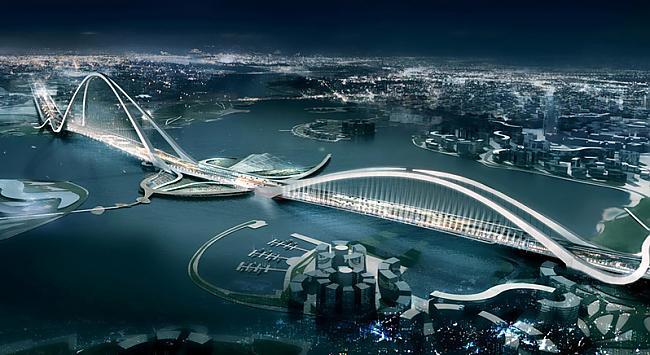 Dubai Arch BridgeTas ir jūdzi... Autors: XereX Megaprojekti: Dubaja 2. daļa