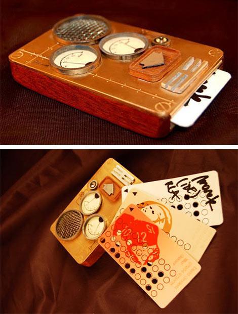 Steampunk mobilais telefonsŠis... Autors: Elx666 Steampunk - otrā daļa