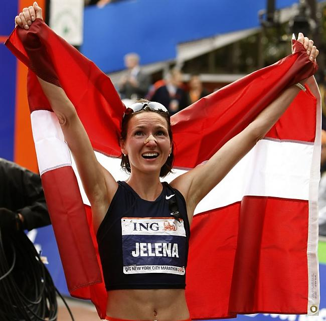 Jeļena ČelnovaProkopčuka ir... Autors: BoomBoxis Latvijas sportisti.