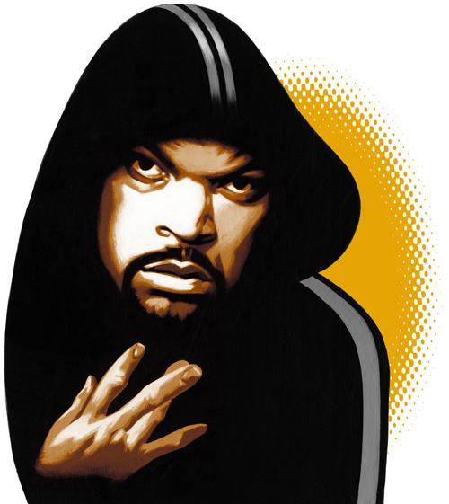 Ice Cube on West Coast Hip Hop Autors: Krekeris Ilustrācijas