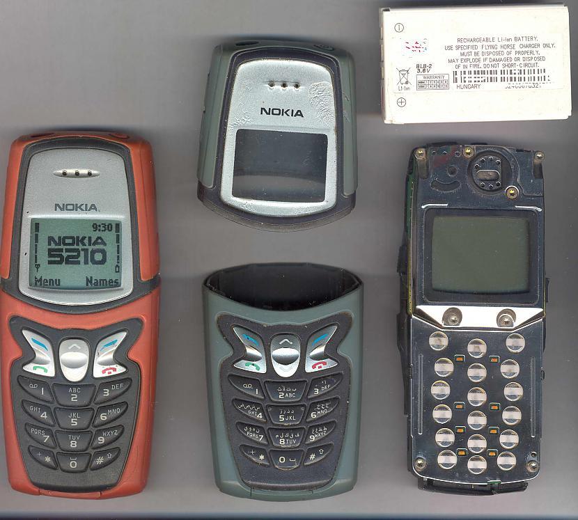 Nokia 5210 Skaitījās... Autors: exe TELEnostaļģija2.