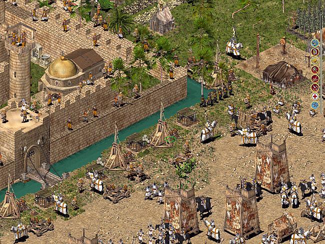 Stronghold Crusader  da... Autors: TheMephestopheles Immortal PC games. Ar zemām sistēmas prasībām.