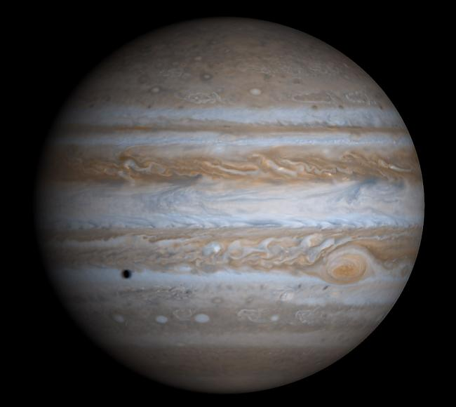 1994 gadā Jupitera virsmā... Autors: ugunīgāā Fakti par saules sistēmu.