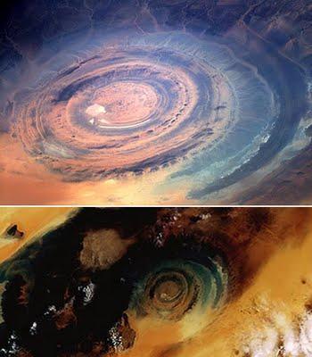 Sahāras acs Mauritānija... Autors: Optimists NaCl Ģeoloģiskie pasaules brīnumi...