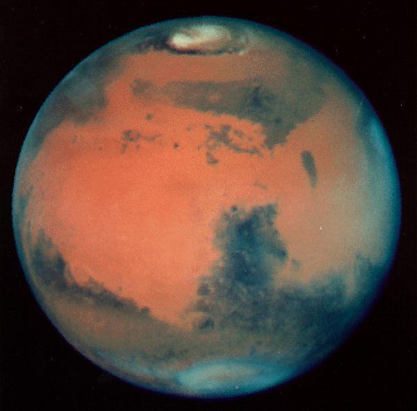 Marss Uz Marsa atrodas... Autors: DonPedro interesanti fakti par Saules sistēmu