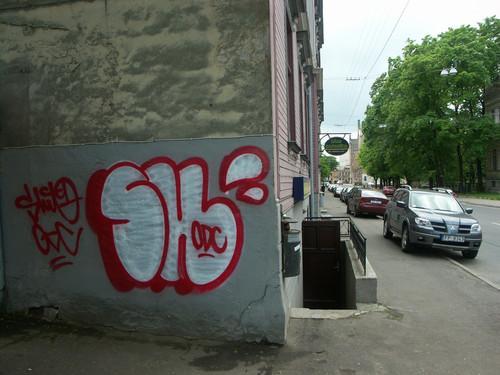 Shitone  Šis zīmētājs ir ODC... Autors: Ruudiiz Rīgas Populārākie Graffiti Zīmētāji