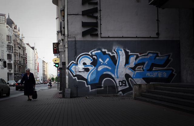Saki  Daudziem viens no... Autors: Ruudiiz Rīgas Populārākie Graffiti Zīmētāji
