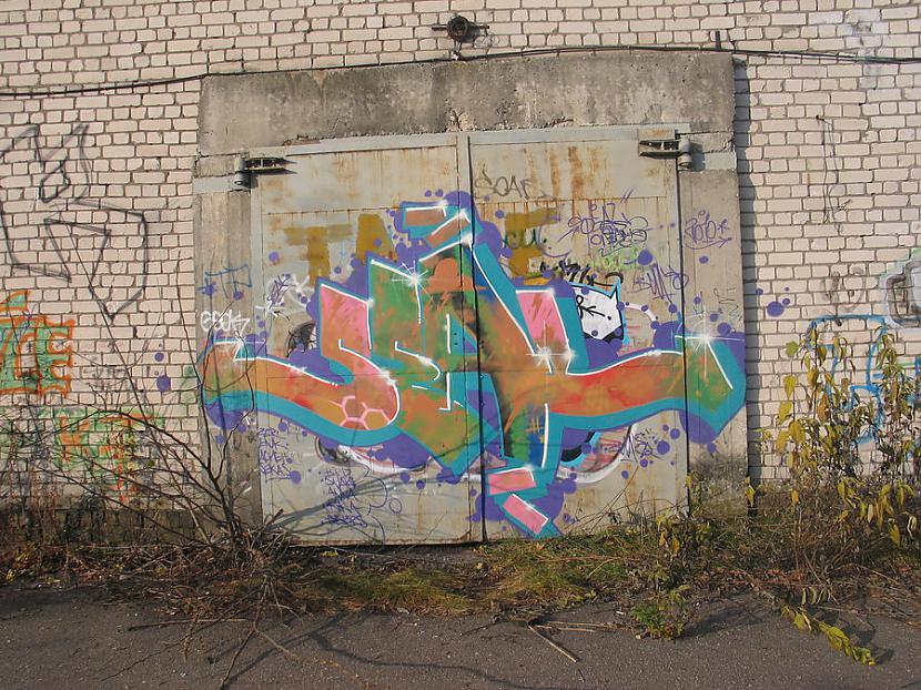 Seal  Man personīgi viens no... Autors: Ruudiiz Rīgas Populārākie Graffiti Zīmētāji 2