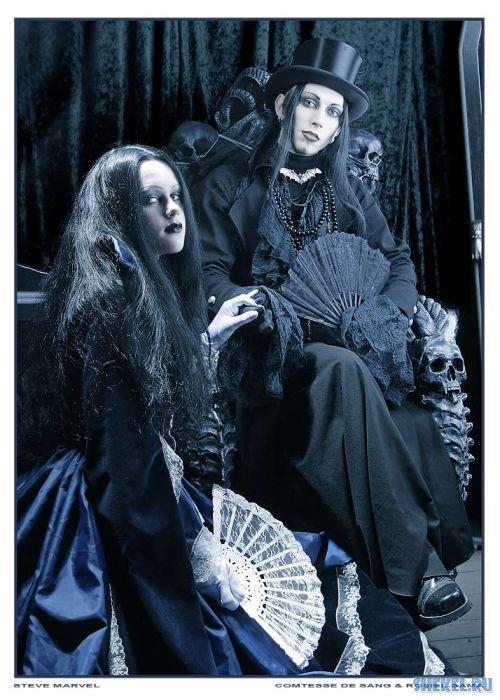 Savā ziņā gotu uzvedībā ir... Autors: zabax11 Goti un Gotisms!