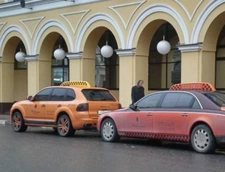 Porsche Cayenne  taksis... Autors: Fosilija Krutākie takši pasaulē.