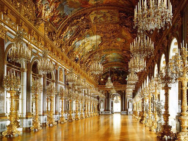 Versaļas spoguļu galerija... Autors: Fosilija Spogulis.