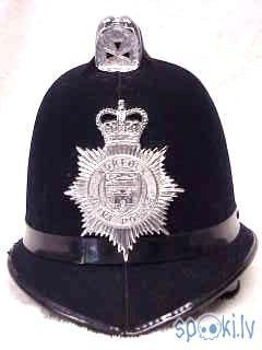 Norfolk UK Joint Police Helmet Autors: Kadets Lielbritānijas policisti pazaudējuši īpašumus
