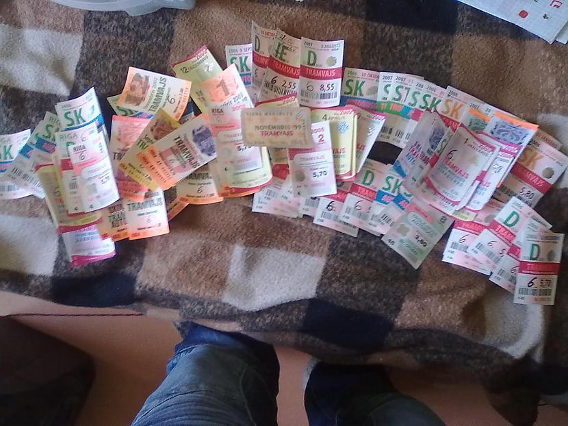 Protams arī mēnešbiļetes bet... Autors: Dzoker Mana RS un citu biļešu kolekcija
