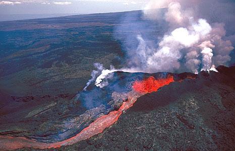Lielākais darbīgais vulkāns ir... Autors: Danc /3.daļa/ 10 jauni nedzirdēti fakti.
