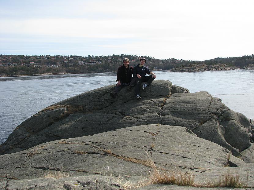 mēs ar tēti uz klintīm Autors: silveriits Norway(Tēvs ciemos)