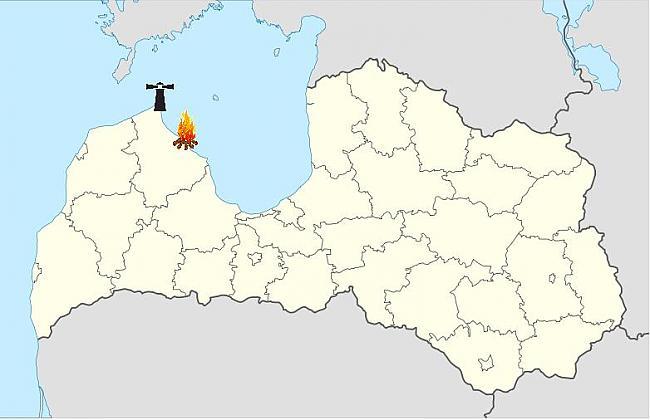 Iztēlojieties Latvijas karti... Autors: BalinaX Kājgrieži Mīts Vai Baisa Patiesība.