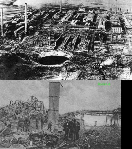 Oppau Vācija 1921 gada 21... Autors: YogSothoth Ellišķīgākie sprādzieni