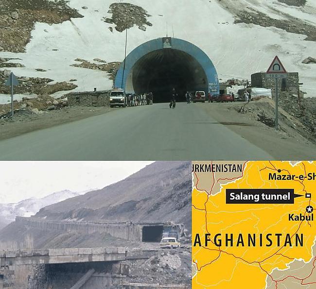 Salangas tunelis Afganistāna... Autors: YogSothoth Ellišķīgākie sprādzieni