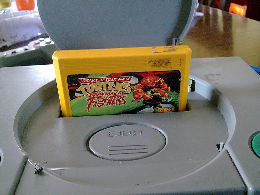 Tad ieliekam kaseti Ninja... Autors: YMothF Izklaides agrāk 2.- Spēļu konsole 1