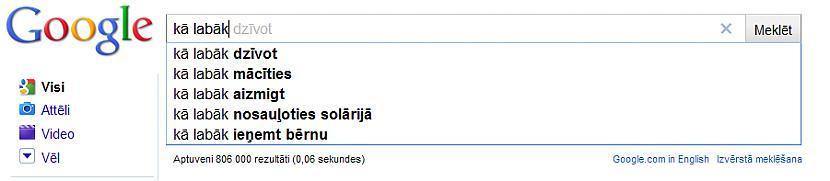 Mūžīgais jautājums quotKā... Autors: Pieaudzisspoks Kas latviešiem interesē visvairāk iekš Google
